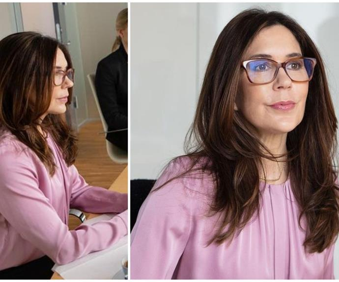 Crown Princess Mary makes a dazzling bright pink appearance amidst lockdown in Denmark