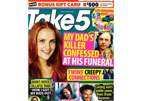 Take 5 Issue 9 Online Entry Coupon