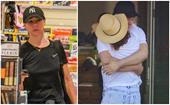 Is Kate Ritchie's fairytale new love over already? The mother and radio star pictured in heartbreaking moment