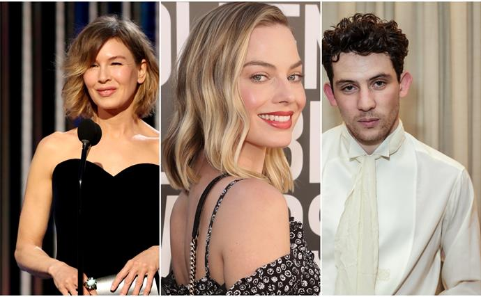 Glamour from near and afar: The best dressed celebs from the 2021 Golden Globe Awards