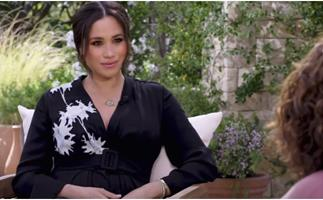 We just got another glimpse of Duchess Meghan's maternity style in a trailer for her tell-all Oprah documentary, and it's dripping in perfection