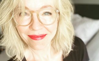 Rebecca Gibney's unrecognisable throwback pic will have you doing a double take before rushing to the hairdresser
