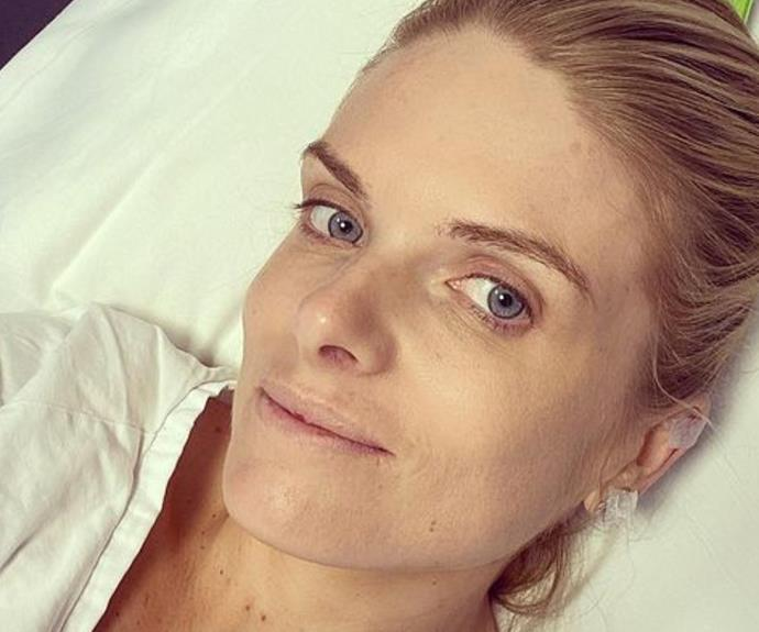 """""""Have a conversation - be aware"""": Erin Molan shares a poignant reminder from hosptial"""