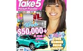 Take 5 Pocket Puzzler Issue 199 Online Entry Coupon