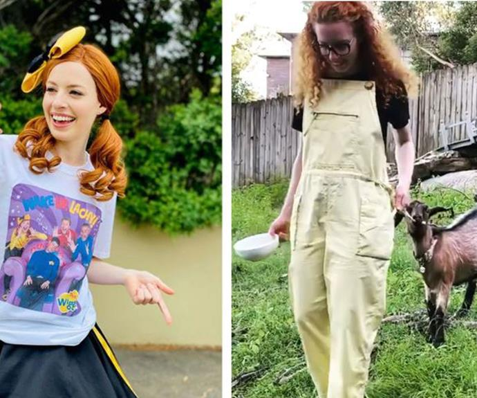 """""""Sending love to all women"""": The powerful reason why Emma Watkins is donning yellow has nothing to do with her role in The Wiggles"""