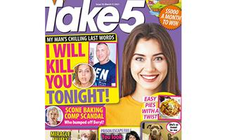 Take 5 Issue 10 Online Entry Coupon