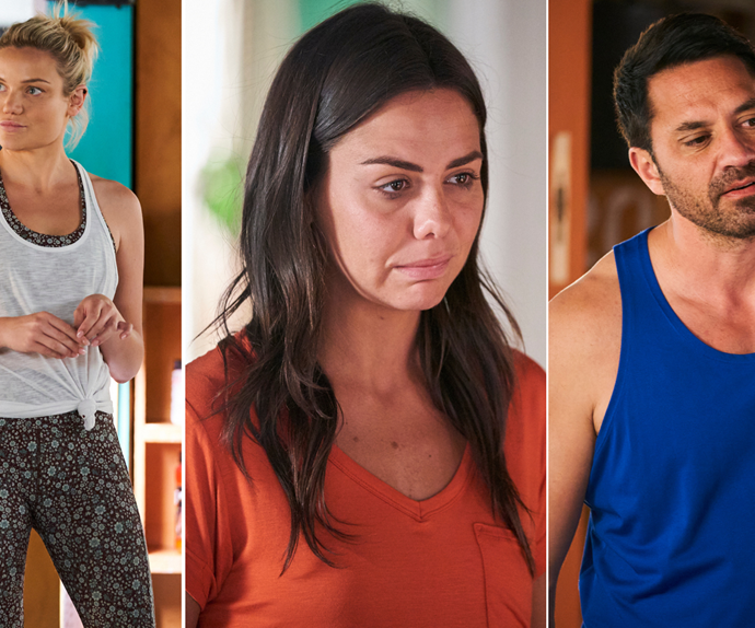 Home And Away shock love child! Ari breaks up with Mackenzie... who is secretly carrying his child