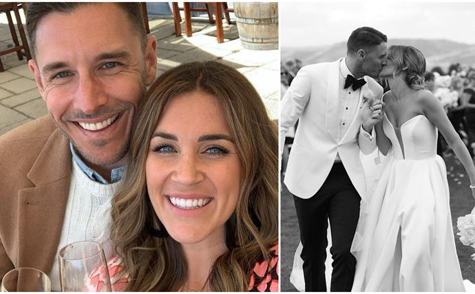 Georgia Love and Lee Elliott have finally tied the knot in a glorious, pun-filled wedding