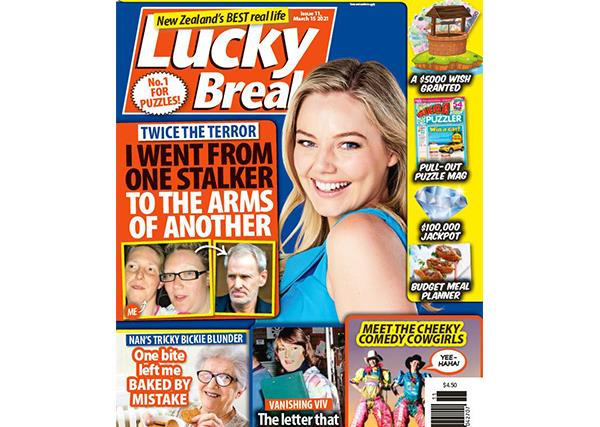 Lucky Break Issue 11 Entry Coupon