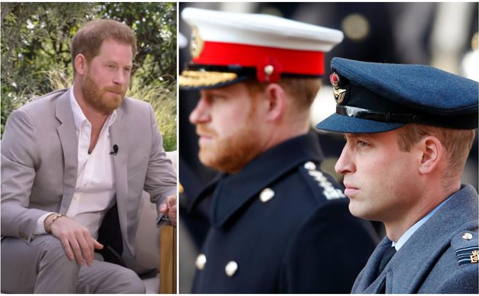"""It is space at the moment"": Prince Harry finally addresses the state of his relationship with Prince William"