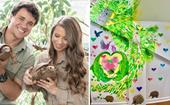 Bindi Irwin and Chandler Powell unveil their daughter's Australia Zoo-themed nursery