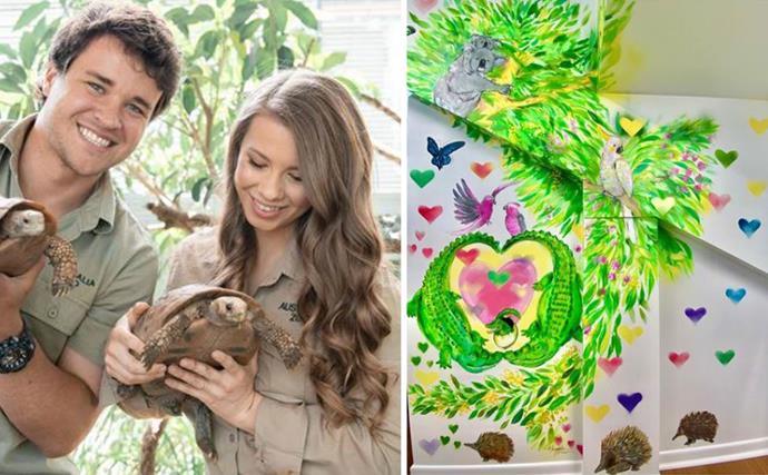Bindi Irwin and Chandler Powell unveil their daughter's Australia Zoo-themed nursery