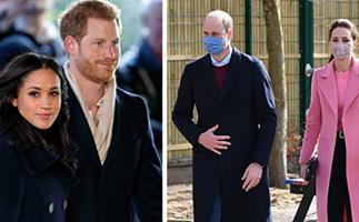 Prince William finally breaks his silence on Prince Harry & Duchess Meghan's bombshell Oprah interview