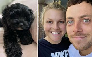 Puppy love! Patrick O'Connor and Sophie Dillman have taken the next step in their relationship