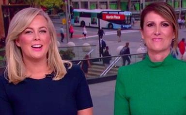 EXCLUSIVE: Natalie Barr takes over the Sunrise hot seat from Samantha Armytage