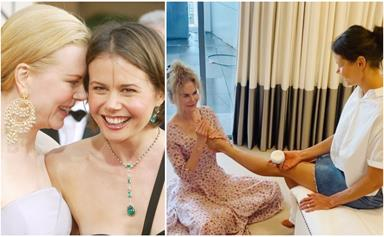 We need to talk about Nicole Kidman's new video with her younger sister Antonia