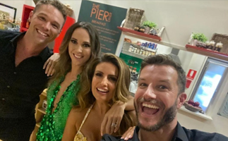 Summer Bay's golden babes are back! See the epic Home & Away cast reunion that's left fans screaming