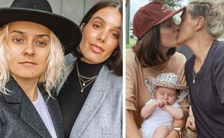"""I want a houseful of babies!"" Moana Hope reveals her exciting pregnancy plans with wife Isabella Carlstrom"