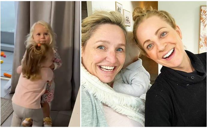 Heartmelt warning: Carrie Bickmore and Fifi Box just shared the cutest kiddie playdate moment with their toddler daughters
