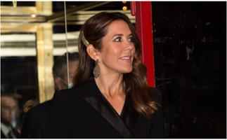 Crown Princess Mary just wore the pant suit of our dreams - so we'll just let the photos convince you of your next purchase