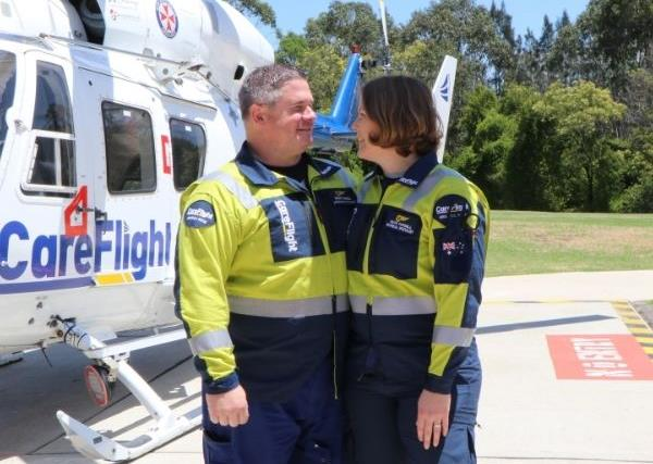 REAL LIFE: Meet the husband and wife duo saving lives from the sky
