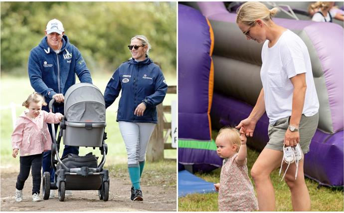 Zara Tindall's two-year-old daughter Lena had the sweetest reaction to her brand new baby brother