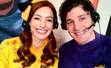 Wiggles stars Lachlan Gillespie and Emma Watkins are the friendliest of exes as they goof around in lighthearted dance video