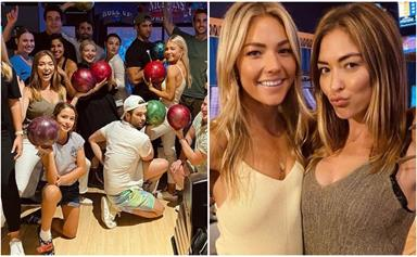 """""""Extremely grateful to have these beautiful humans in my life"""": The Home & Away cast gather off-set to celebrate Sam Frost's 32nd birthday"""