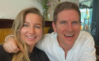 """She makes me so happy"": Meet Sunrise weatherman Sam Mac's stunning new girlfriend"
