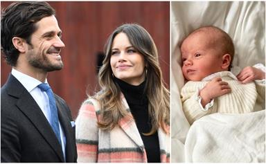 Prince Carl Philip follows in Duchess Catherine's footsteps as he and Princess Sofia of Sweden release the first photo of their newborn baby son
