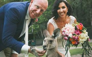 REAL LIFE: The roos that helped us say I do!
