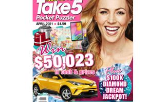 Take 5 Pocket Puzzler Issue 200 Online Entry Coupon