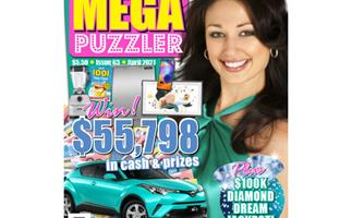 Take 5 Mega Puzzler Issue 63 Online Entry Coupon