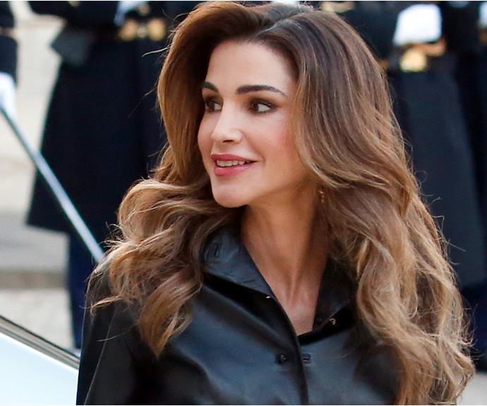 With one bright pink suit, Queen Rania of Jordan just proved she's the unsung fashion icon of all royals