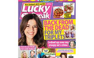 Lucky Break Issue 15 Entry Coupon