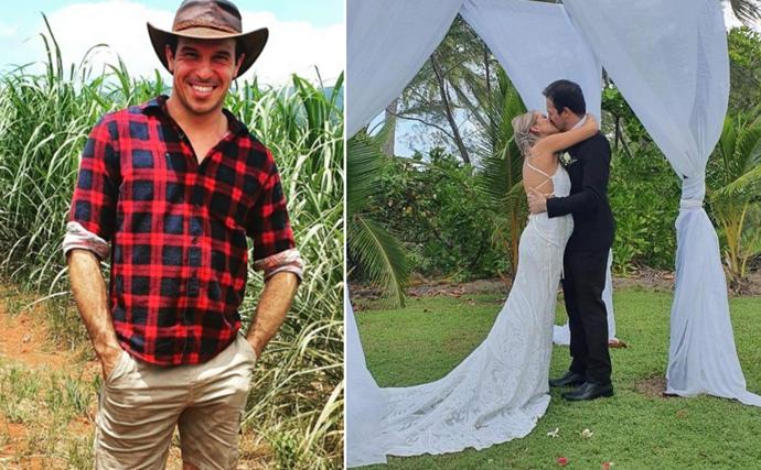 The farmer found his wife! Farmer Wants A Wife's Sam has officially tied the knot in a beautiful ceremony