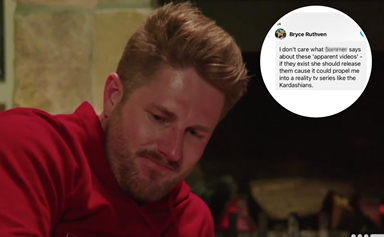 EXCLUSIVE: Text reveals MAFS' Bryce tried to leak his own sex tape… sort of