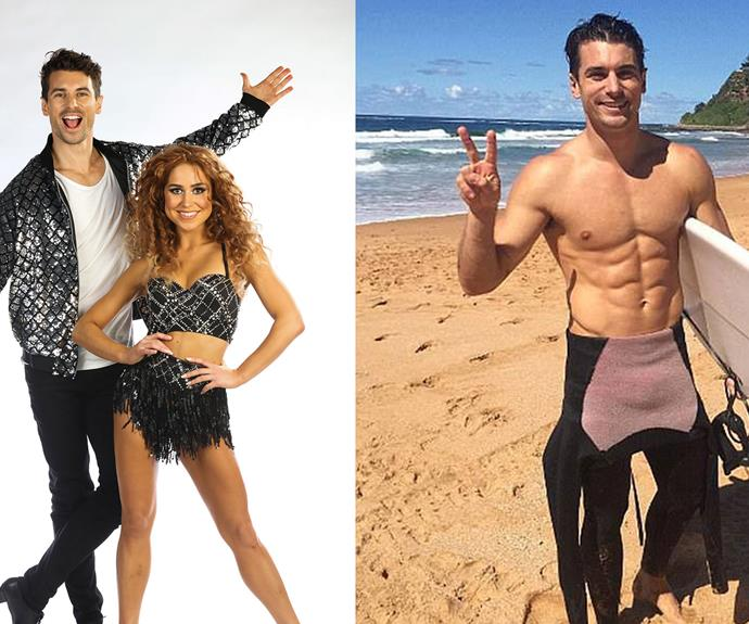 EXCLUSIVE: You won't believe Matty J's Dancing With The Stars body transformation