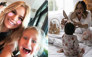 The bunny is back! Here's how your favourite celebs spent their Easter