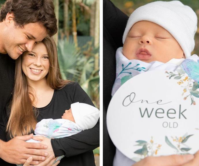 Amazing Grace: Every single photo of Bindi Irwin and Chandler Powell's newborn daughter, Grace Warrior