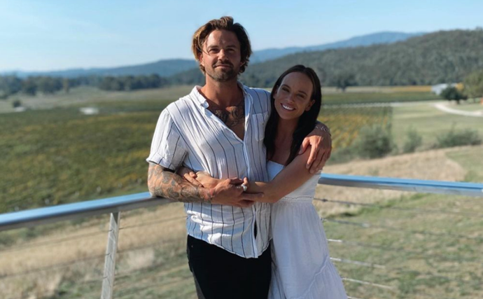 Neighbours star Bonnie Anderson gushes over her new boyfriend in a picture-perfect post