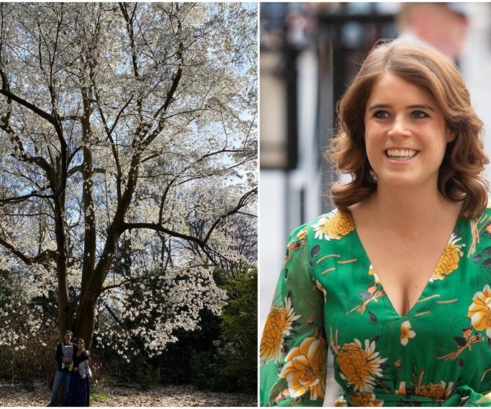 Princess Eugenie shares a gorgeous, springtime snap with her baby son August as she celebrates her first Easter as a mother