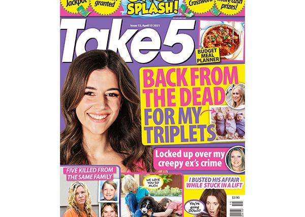 Take 5 Issue 15 Online Entry Coupon