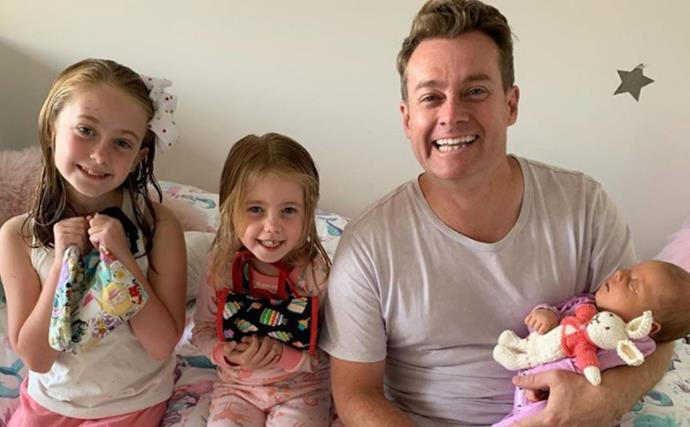 He's the busiest man in showbiz, but Grant Denyer's favourite role is Dad: See his adorable family album
