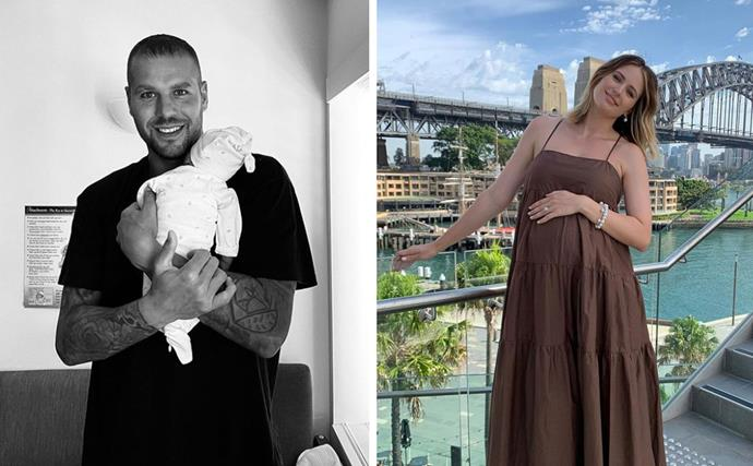Jesinta and Buddy Franklin's son's name may have just been revealed... and it's oh so trendy!