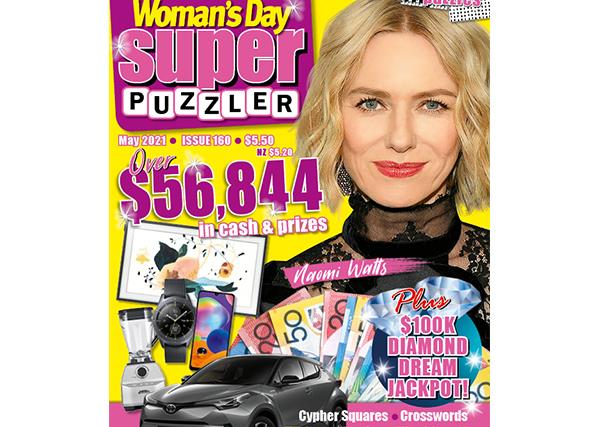 Woman's Day Superpuzzler Issue 160 Online Entry