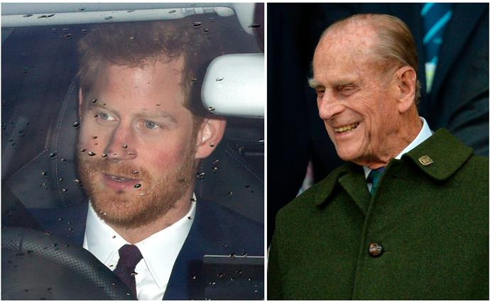 Prince Harry has officially touched back down in the UK for the first time in a year as he prepares to farewell Prince Philip