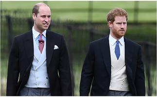 Harry & William put on a united front as they release emotional statements in the wake of grandfather's death