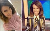 Good morning to you and to Natalie Barr's perfect pink pantsuit: The new Sunrise host is nailing newsreader fashion