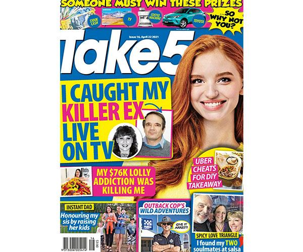 Take 5 Issue 16 Online Entry Coupon